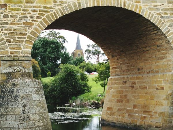 Richmond Bridge Architecture Built Structure Arch Man Made Structure Old Bridges Low Angle View Tasmania, Australia Oldschool Outdoors No People Day Water