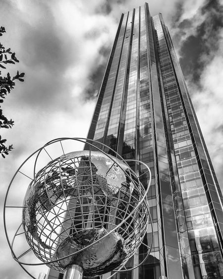 Columbus Circle, NYC. Architecture Façade Lines, Shapes And Curves Buildings Manhattan Lines Light And Shadow New York City Skyscrapers Structure Nycprimeshot Fresh On Eyeem  Black & White Blackandwhite Black And White The Architect - 2016 EyeEm Awards