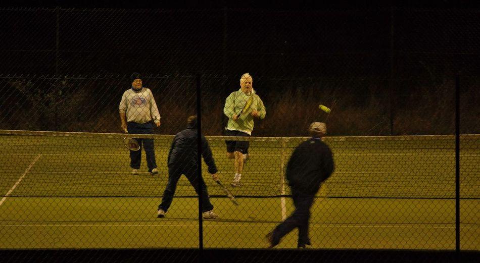 Men playing tennis. Enjoying Life Life In Motion Getting Inspired People Watching