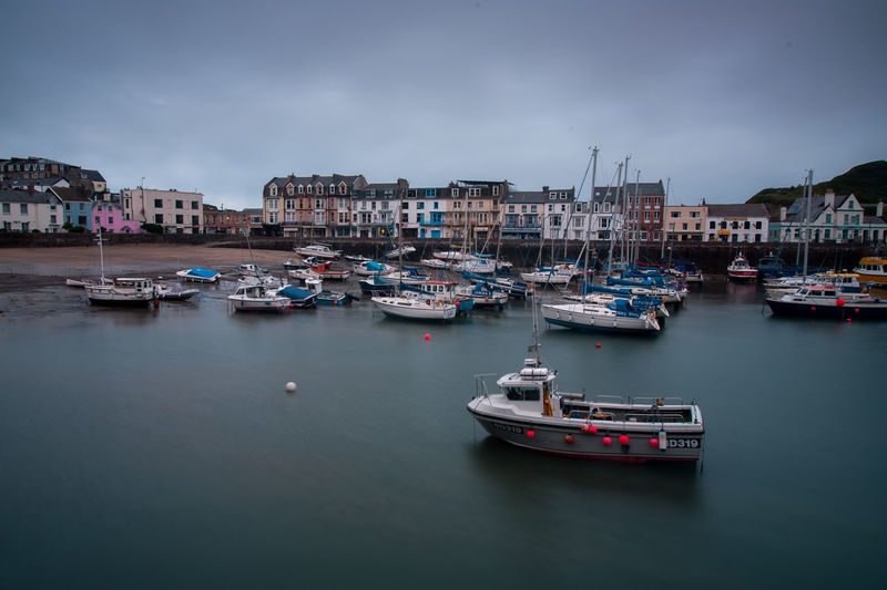 Devon Building Exterior Built Structure City Cloud - Sky Dawn Day Dusk Harbor Ilfracombe Harbour Marina Mode Of Transportation Moored Nature Nautical Vessel No People Outdoors Passenger Craft Sailboat Sea Sky Transportation Water Waterfront Yacht