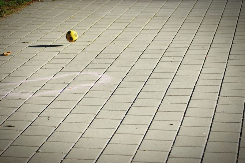 Jumping Ball Day Outdoors Yellow No People Nature Abstract Rural Scene EyeEmbestshots Freshness EyeEmBestPics EyeEm Best Edits EyeEm Best Shots EyeEm Gallery Shadows & Lights Summer ☀ Low Angle View Focus On Foreground Funn