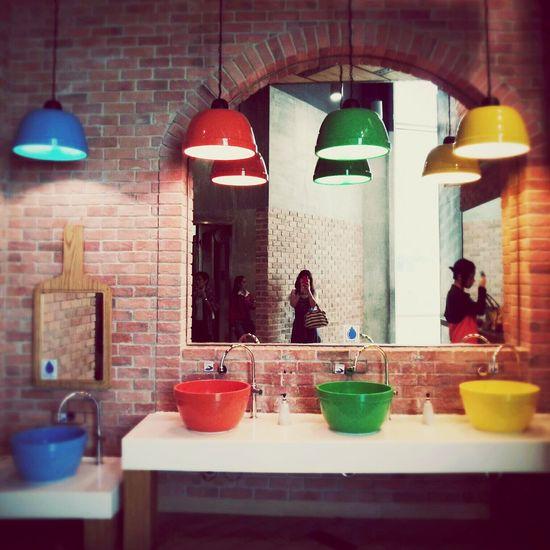 タイ バンコク Colorful ターミナル21 トイレ