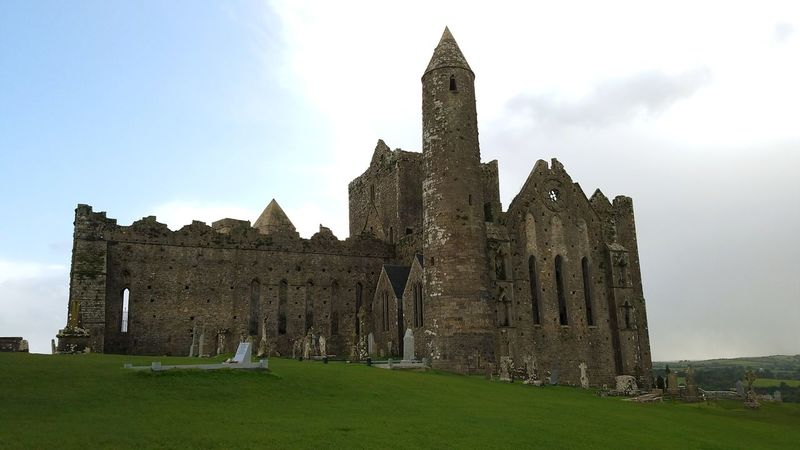 Ireland🍀 Cashel Rock Of Cashel Church Church Ruin Architecture History Building Exterior Old Ruin Travel Destinations Built Structure Business Finance And Industry Ancient Castle