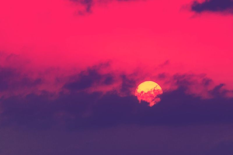 Color of sunset Sun Pretty Sunset_collection Sunset Eye4photography  Eyem Gallery EyeEm Best Shots EyeEm Nature Lover Red Pink Sunlight Sun_collection Sunrise_sunsets_aroundworld