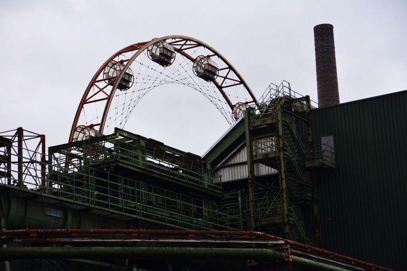Industrial Industrial Landscapes Zeche Zollverein Kokerei Zollverein Ruhrgebiet Ferris Wheel