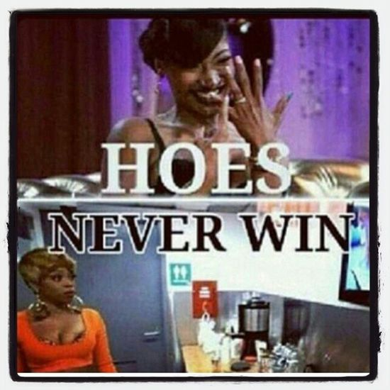 Lmao at you hoes!!!