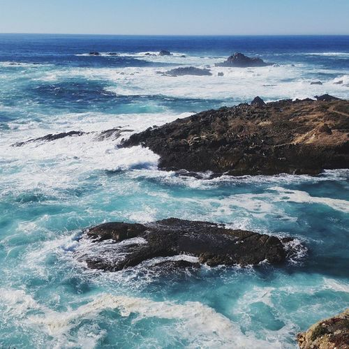 Turbulent blues. California Point Lobos Nature_collection EyeEm Best Shots Ocean Pacific Ocean California Coast Nature