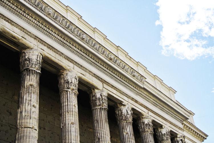 Ancient Architecture Column Culture History Pantheon Sky Tourism