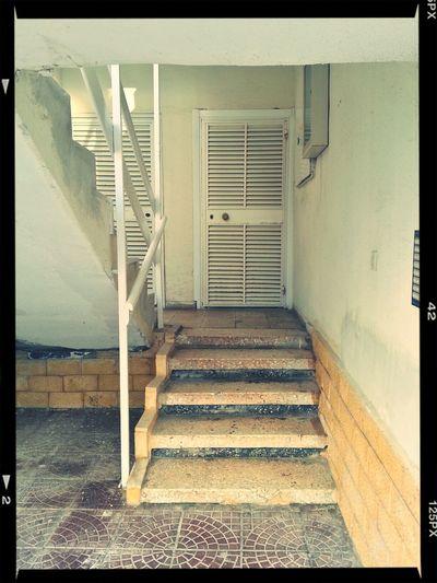 Old Entrance Last Shot Of Summer September End Of Summer