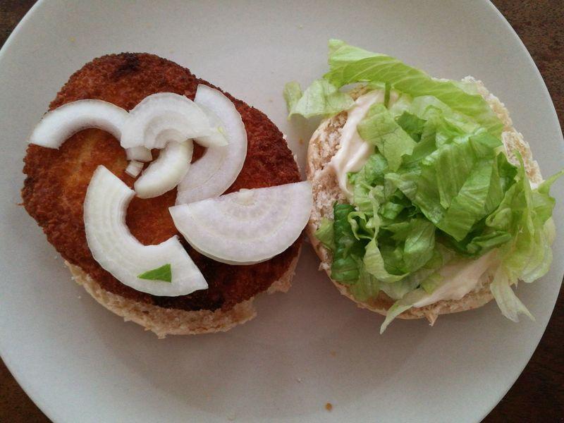 Burger Chicken Burger Homemade Food Fastfood