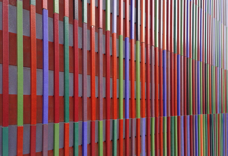Brandhorst Brandhorst Museum Abundance Multi Colored Full Frame Backgrounds Pattern Large Group Of Objects Variation Indoors  In A Row Choice No People Arrangement Close-up Side By Side Order Shelf Still Life File Striped Repetition