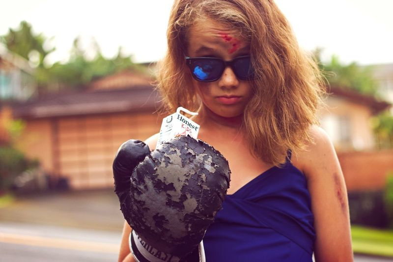 No. You did not. A Force To Be Reckoned With. Strongwoman Still Standing Battered Rugged Beauty Sunglasses One Person Portrait Young Adult Lifestyles Fashion Leisure Activity Glasses Women Real People Beauty Headshot