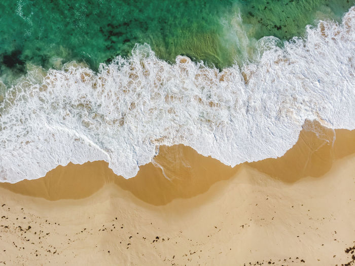 Marley Beach, Royal National Park, Sydney. 50 Meters Above Aerial Shot Australia Beach Life DJI Mavic Air Flying High From Above  Abstract Beach Breaking Crushing Waves Drone Photography Full Frame High Angle View Hiking Adventures Motion Nature Outdoors Power Power In Nature Sand Sea Splashing Water Wave