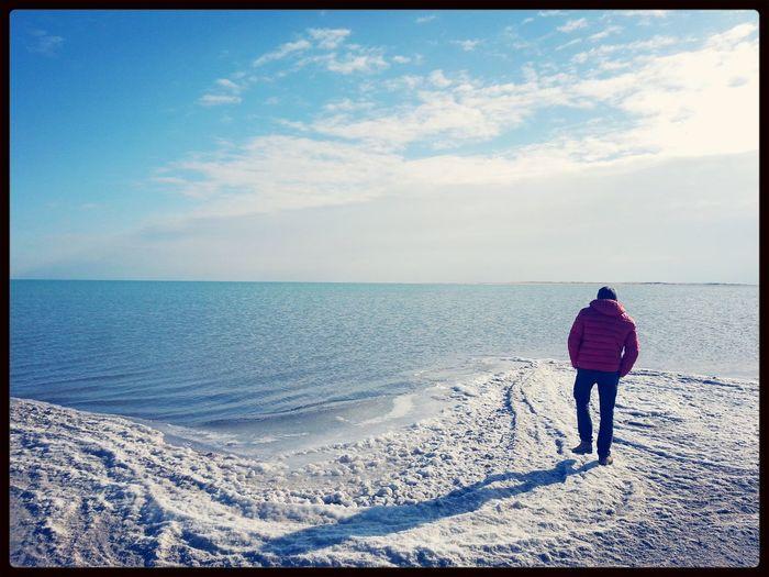 мороз и солнце день чудесный)))