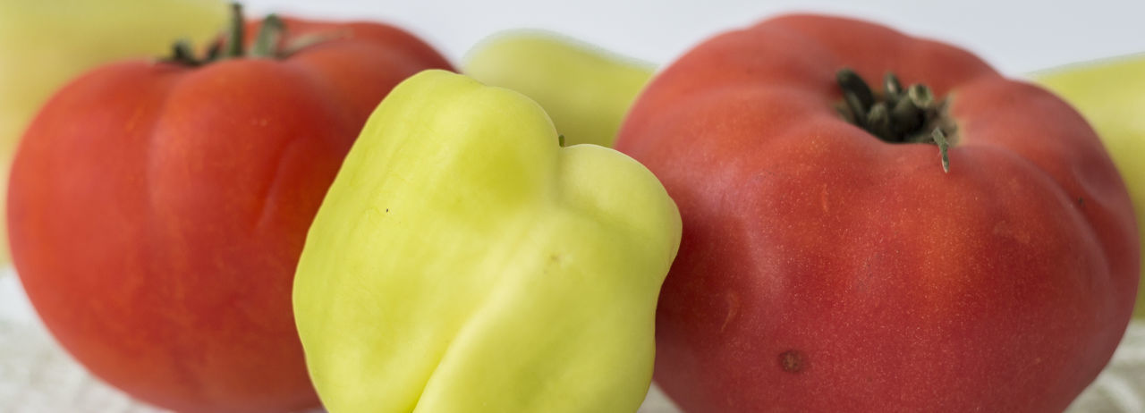 Close-up of red bell peppers