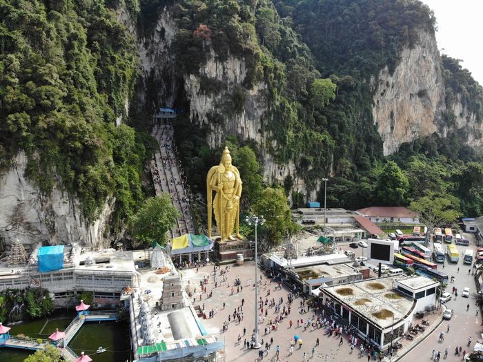 Shiva statue at batu caves