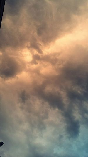 The sky before a storm a few nights ago. Nature Sky And Clouds Before Rain Beautiful Rain