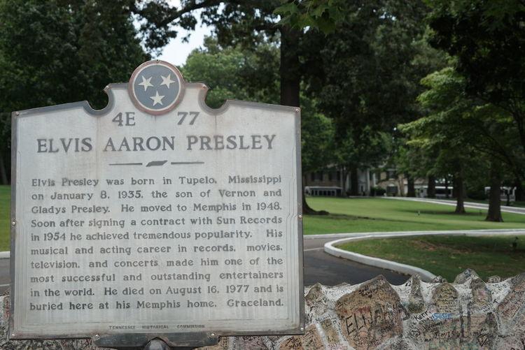 USA Road Trip Tennessee Memphis Graceland Elvis Presley