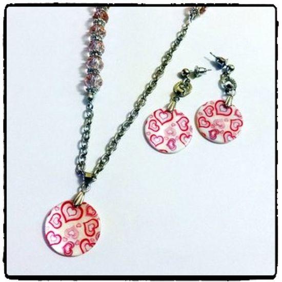 @fotor_apps Fotor перламутр сердечко Стиль серьги сережки кулон купить мода fashion style heart