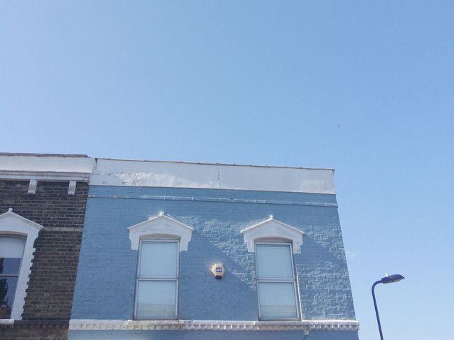 Blue Minimalobsession Minimalism House Blue Sky