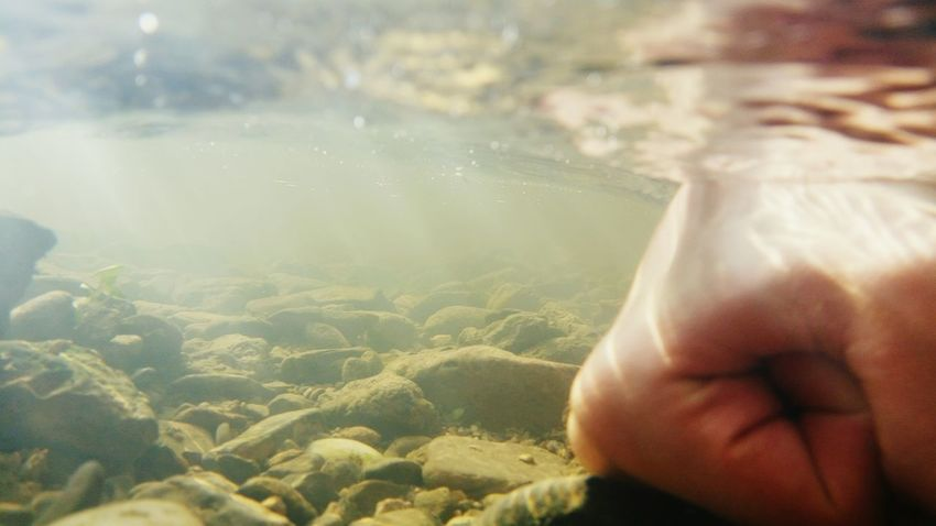 Underwater Stones Water Waterproof Camera Light Sunlight Austria