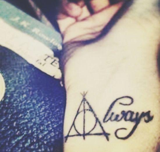 Harry Potter ⚡ Tattoos Always <3 First Eyeem Photo