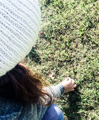 Grass Girl Flower Wool Hat Cold Nature Green Argentina
