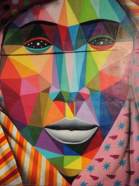 Multi Colored Pattern Geometric Shape Backgrounds ArtWork Art Gallery Wynwoodwalls Wynwood Art Walk Wynwoodartdistrict Wynwood Miami