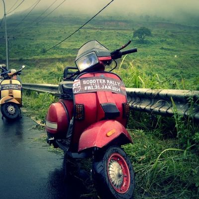 Adventure Vespa Scooterrallygoestogarut Bopscoot instapic excel2004 instapic