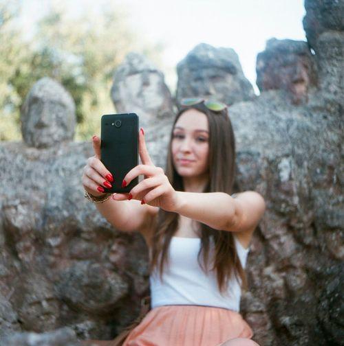 Selfie World Flexaret Film 6x6 Girl Summer Beauty