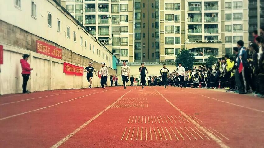 🌸🌸In this world,every one is not easy.💐💐 School Sportsmeeting Running Race Youth School Life  Schoolsportsday Sport