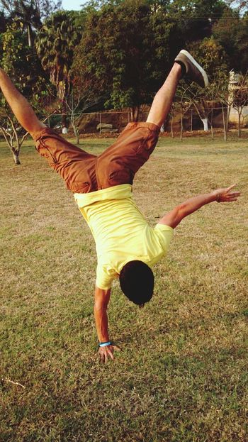 That's Me Check This Out Handstand  Enjoying Life