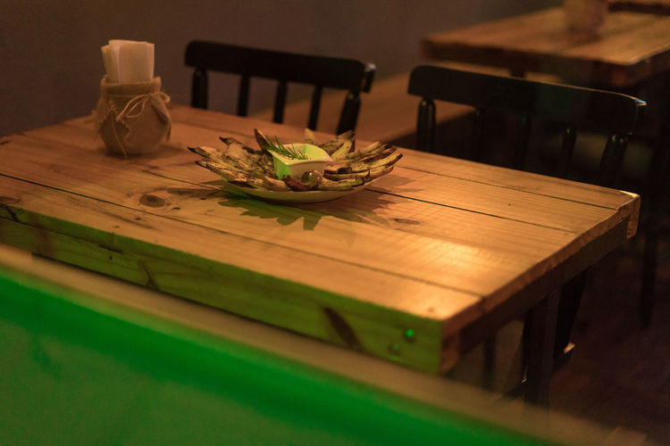 EyeEm Market 2017 Food And Drink Restaurants Chair Close-up Day Eyeem Market Food Food And Drink Foodphotography Freshness Healthy Eating Indoors  No People Table Wood - Material