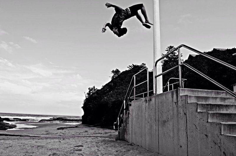 Backflip Freerunning Photography Jackmay