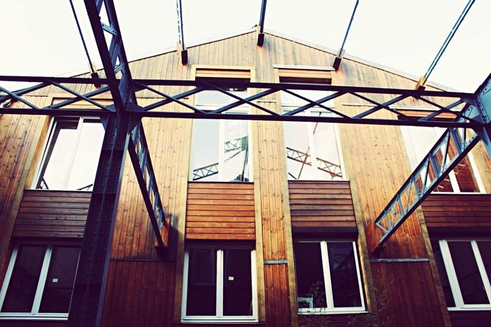 Learn & Shoot: Leading Lines Paris Montreuil  Atelier Wooden OpenEdit Houses