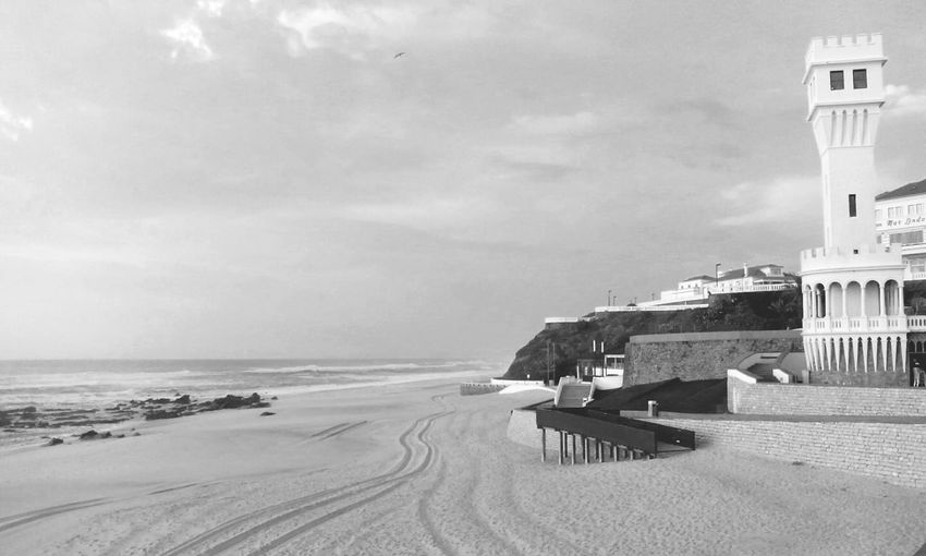 love this place! !! Walking On The Beach Blackandwhite Black & White From My Point Of View Portugal