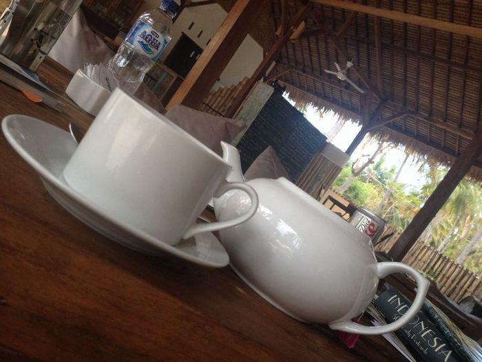 Tea Time Beautiful Surroundings