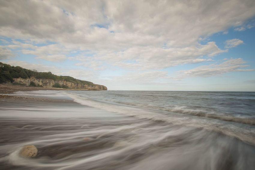 Sea And Sky Seascape Sigma 18-35 F1.8 Long Exposure Nikonphotographer Nikonphotography Nikon Nightphotography Nikond7200 Beach Cloud - Sky Nisi NiSi Filters Backwash
