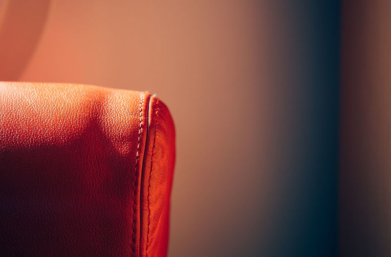 Chair Leather Sunlight Twodaysberlin Close-up Day Full Frame Indoors  Light And Shadow No People Red Single Object Studio Shot Textured  The Week On EyeEm