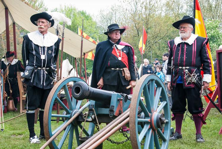 Battle Canon Encampment Leisure Activity Napoleon Officers