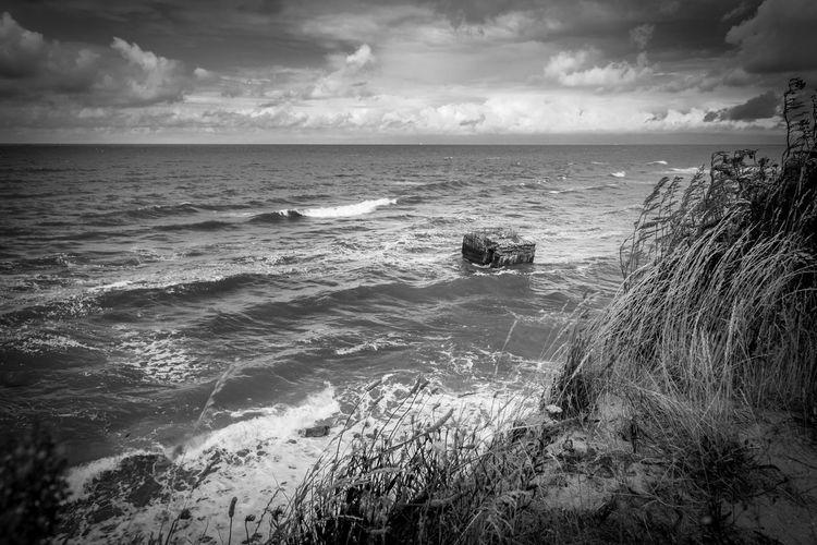 Beach Beauty In Nature Coastline Lostplaces Majestic Nature Ruin Seascape Lost In The Landscape