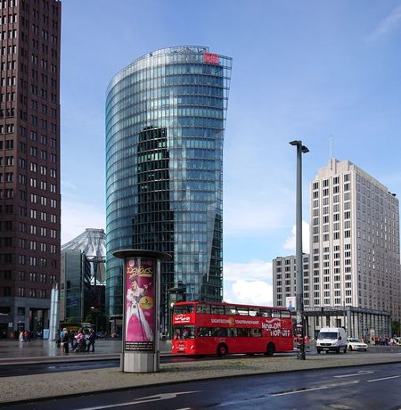 Potsdamer Platz 😃 Me&berlin Modern Architecture Skyscraper Business Finance And Industry City Building Exterior Built Structure Mobility In Mega Cities