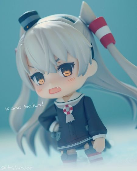 Amatsukaze, the tsundere xD Childhood Toy Human Representation Indoors  Close-up No People Doll Day Amatsukaze Blue Toyphotography Toy Photography Kantaicollection Kancolle Figurine  Anime Indoors  Tsundere Macro