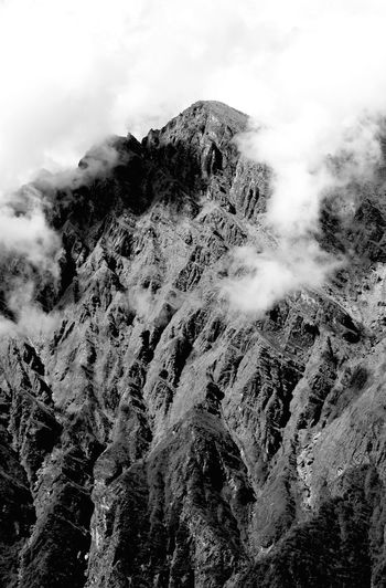 Adventure Annapurna B&w Beauty In Nature Black And White Blackandwhite Clouds Day Geology Himalayas Landscape Low Angle View Mountain Nature Nepal No People Outdoors Peace Peak Power In Nature Scenics The Great Outdoors - 2017 EyeEm Awards Tranquility Trekking Live For The Story EyeEmNewHere Breathing Space Lost In The Landscape Black And White Friday Go Higher Inner Power The Great Outdoors - 2018 EyeEm Awards The Traveler - 2018 EyeEm Awards The Creative - 2018 EyeEm Awards
