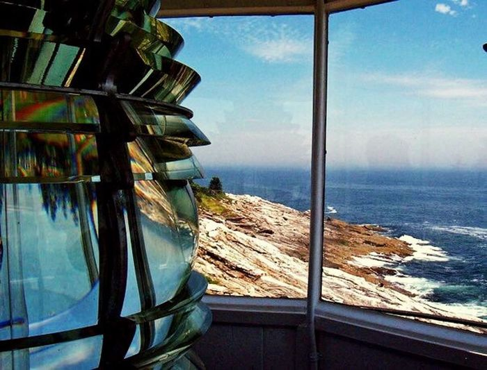 Where it all began. Pemaquid point lighthouse, Maine Sea Water Beauty In Nature Horizon Over Water Close-up Lighthouse_lovers Seaoflife Seascape