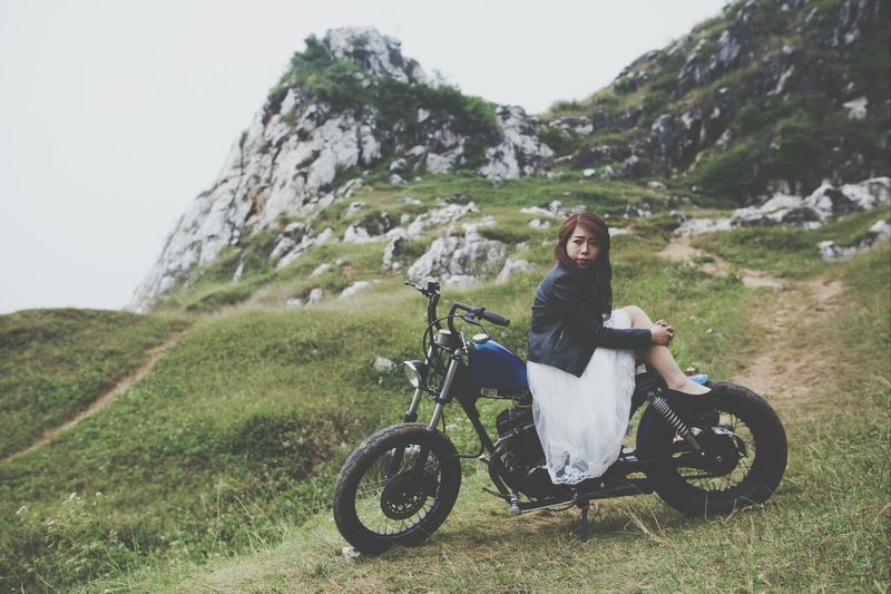 Motocycle <3 Mountain View Bride Bobber Come away with me