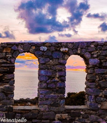Arch Built Structure Architecture Cloud - Sky Sky History No People Outdoors Day Nature Sunset