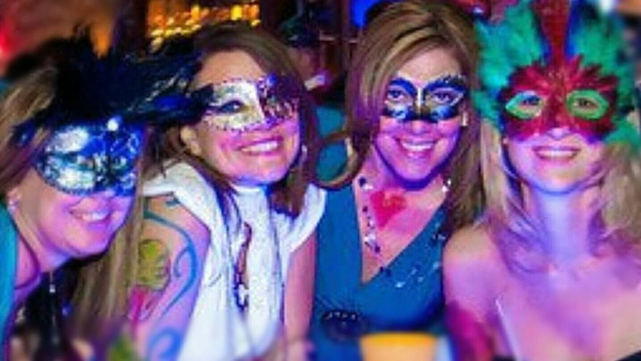 One Wild Night Mascarade Fun With Friends Makingmemories I Wanna See Those Smiles. Sheffield's Fernandina Beach