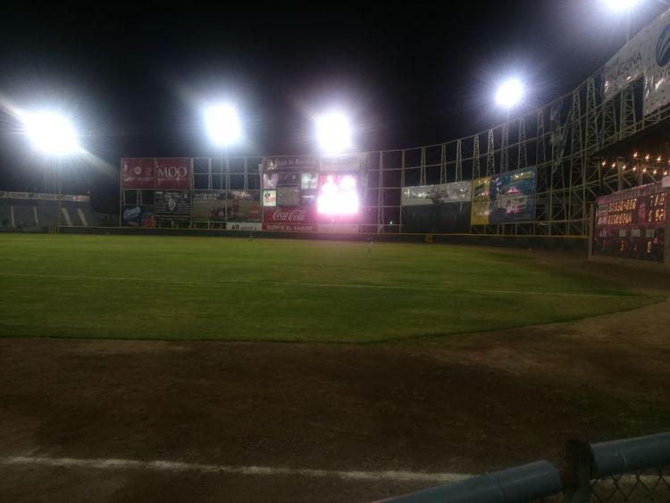 No People At Night🌙 Torreón, Coahuila Comarca Lagunera Baseball Baseball Game Baseball Field Baseball ⚾ Beisbol