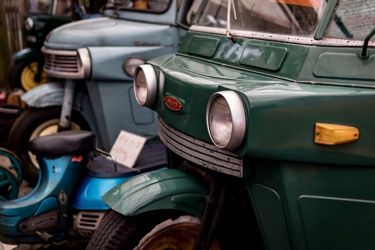 Transportation Car Mode Of Transport Retro Styled Land Vehicle Old-fashioned Vintage Car No People Stationary Close-up Day Outdoors Technology